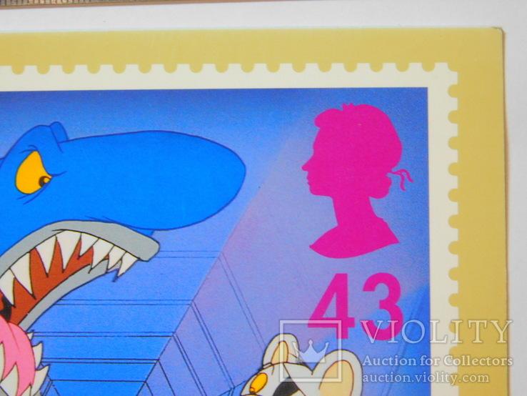Открытка Великобритания (акула), фото №4