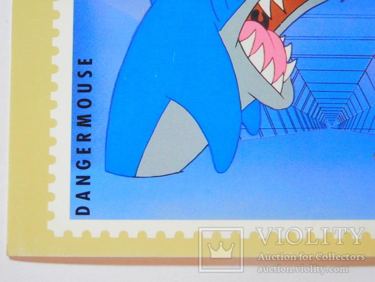 Открытка Великобритания (акула), фото №5