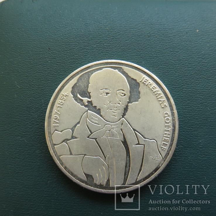 20 франков 1991 год ШВЕЙЦАРИЯ серебро, фото №3