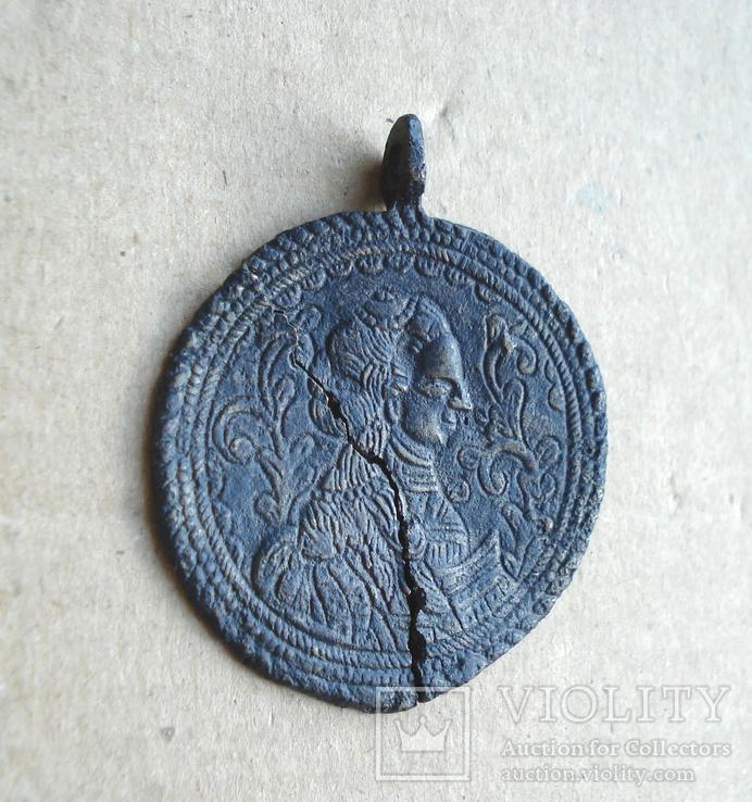Медальон литой XVIII-XIX вв., фото №10
