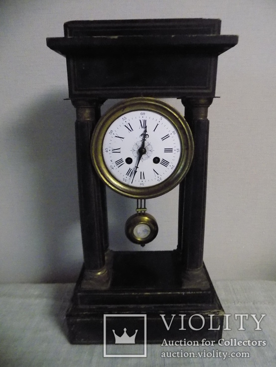 Портіковий годинник Франція 1870рр