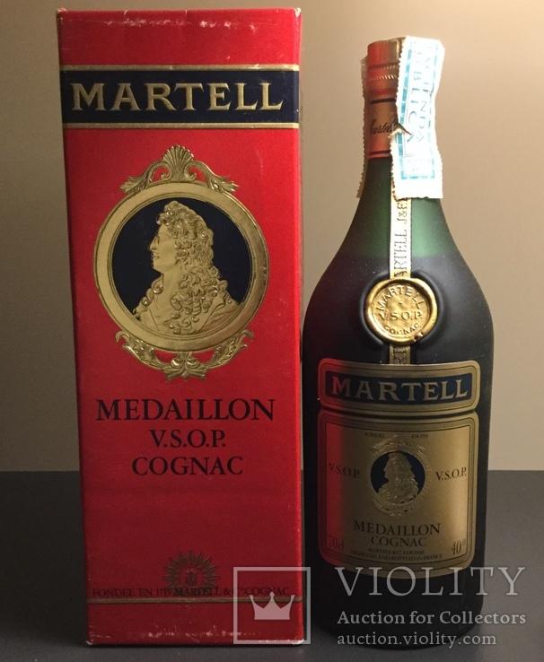 "Коньяк,,Martell Medaillon""VSOP.Франция.1970s"