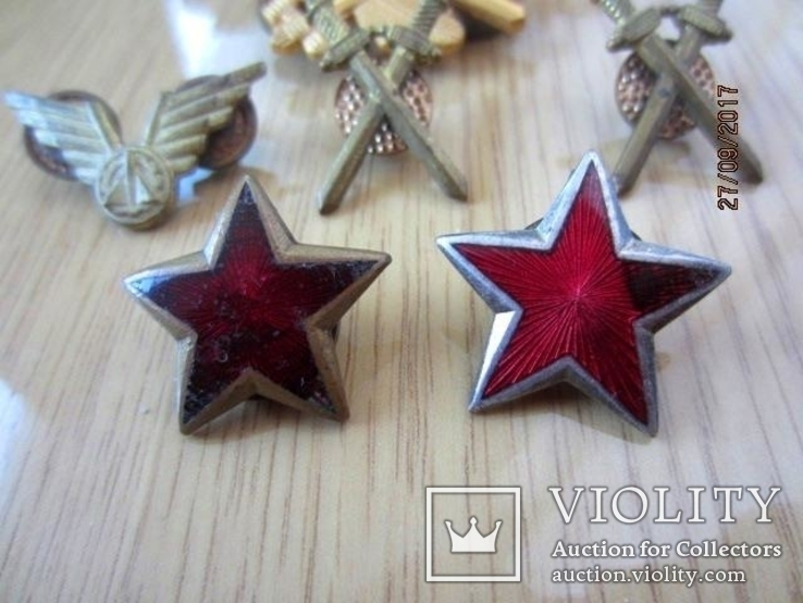Знаки и звёзди Вооружённых сил Югославии (1946—1991), фото №6