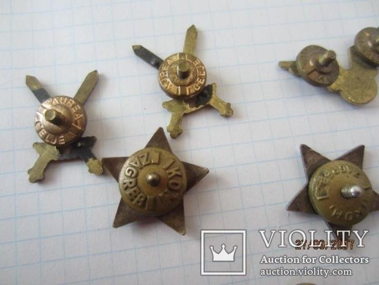 Знаки и звёзди Вооружённых сил Югославии (1946—1991), фото №12