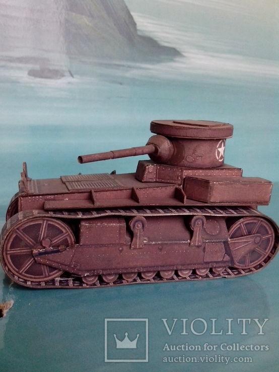 T1 Cunningham. World Of Tanks. Бумажная модель., фото №3