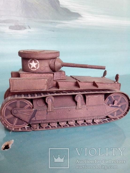 T1 Cunningham. World Of Tanks. Бумажная модель., фото №2
