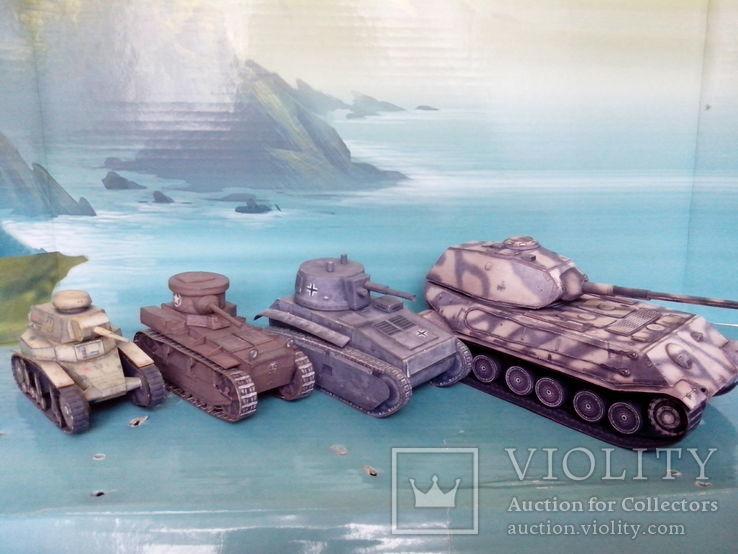 T1 Cunningham. World Of Tanks. Бумажная модель., фото №4