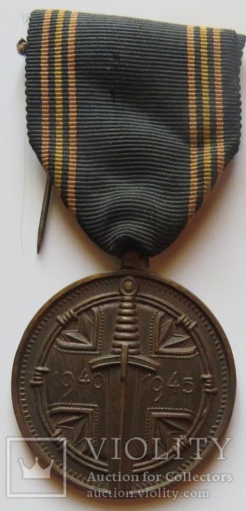 Медаль  для узников нацистских  лагерей  военнопленных  армии Бельгии., фото №2