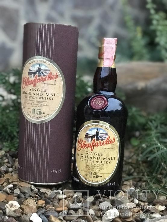 Виски Glenfarclas 15 1990/00s