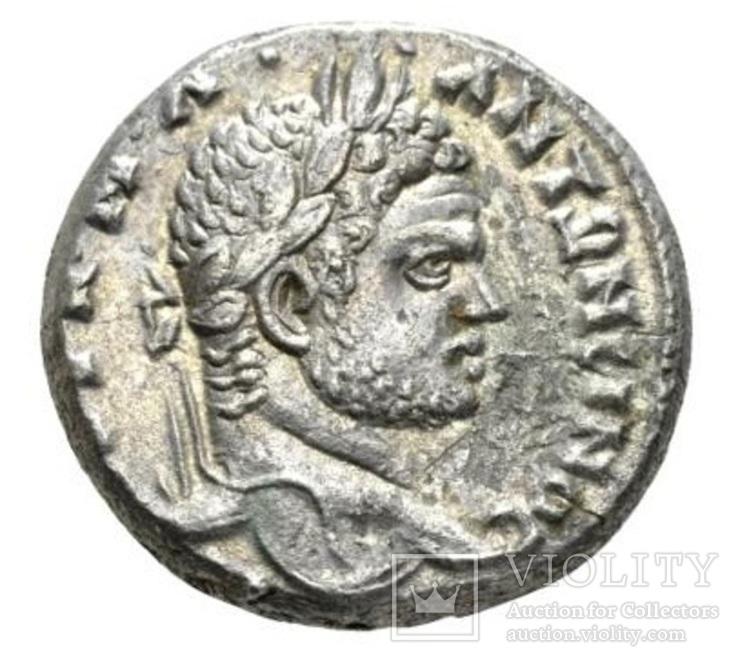 Тетрадрахма Каракалла ( 198-217 рік )
