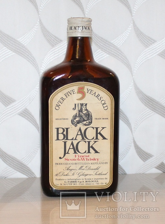 Виски Black Jack 5 year old