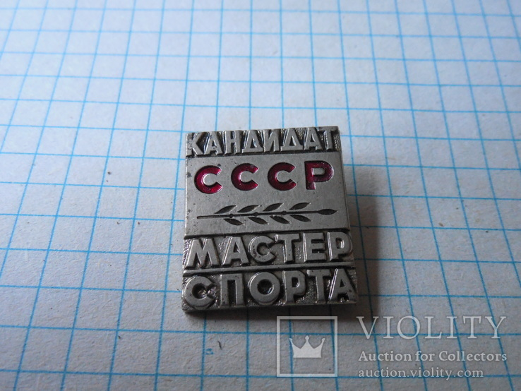 Знак кандидат мастер спорта СССР, фото №3