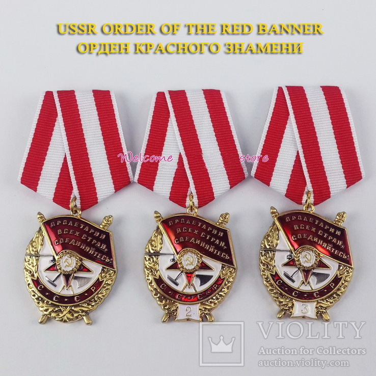 Орден БКЗ  1-2-3 награждение  копия, фото №2