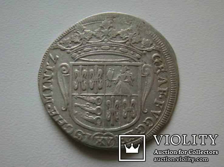 15 крейцеров 1676 Фуггер-Бабенхаузен Германия