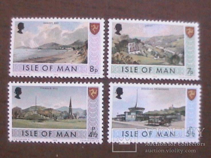 Остров Мэн 1975 ландшафты