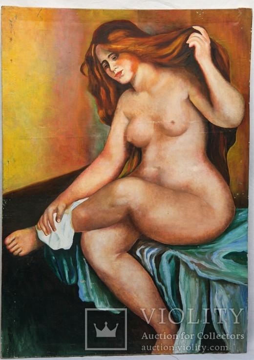 Картина Натурщица, холст, масло, размер 112 х 80 см.