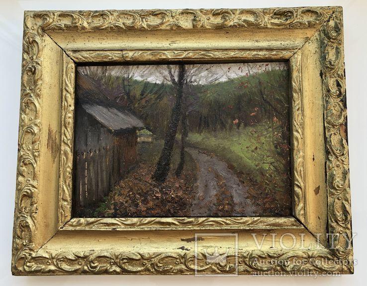 Картина И.К. Цюпка в раме