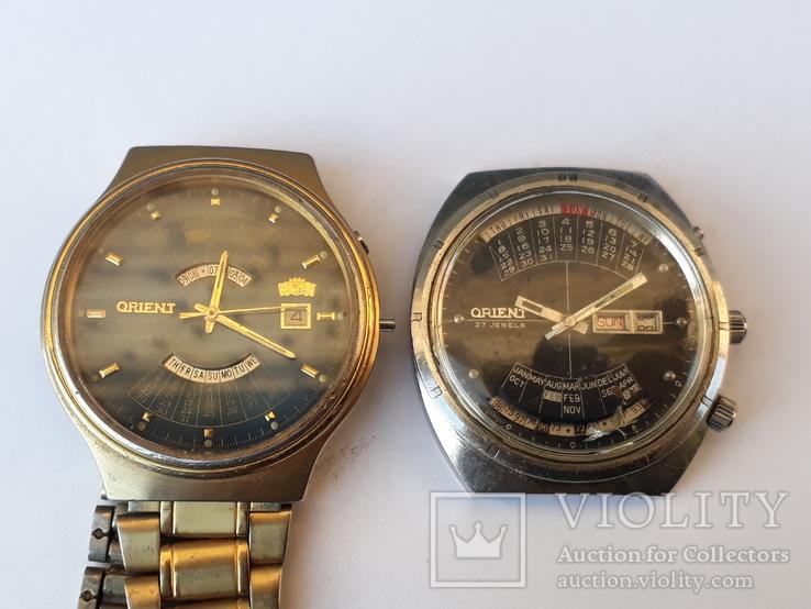 Часы Orient 27 камней и 21 камень