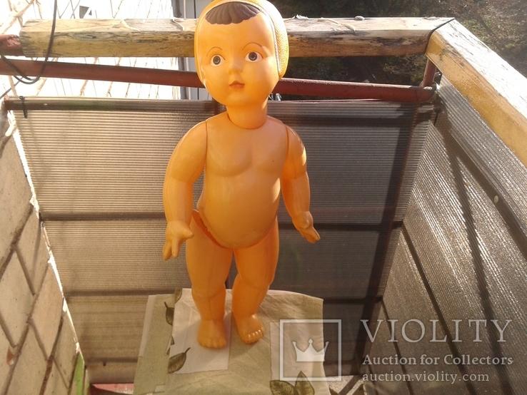 Кукла-целулоид пловчиха.