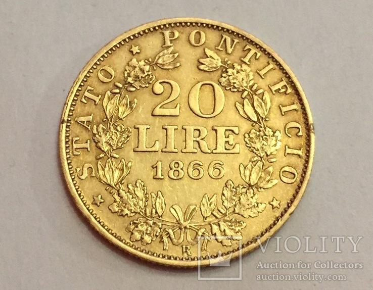 20 lire 1866г