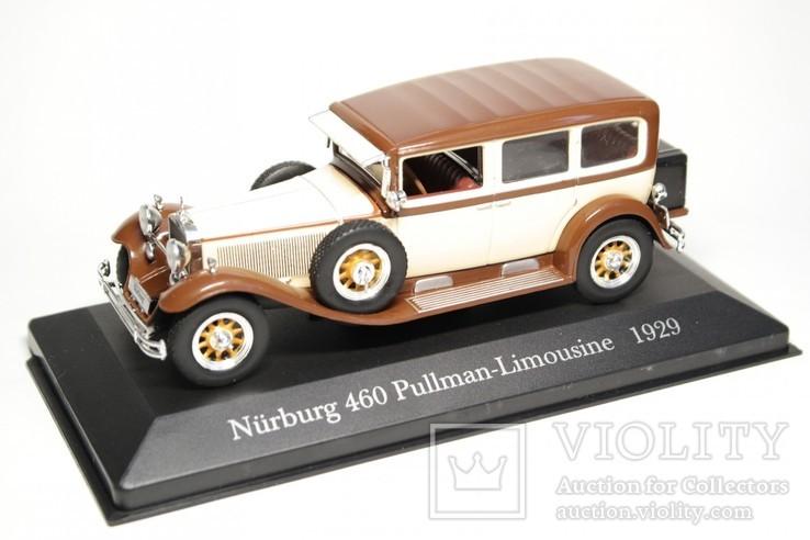 Mercedes-Benz Nürburg 460 Pullman-Limousine 1929 Altaya-IXO