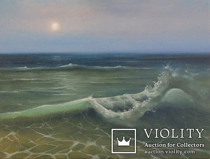 Морской пейзаж 40х30 см.. холст, масло. Автор: Жанна Захарченко