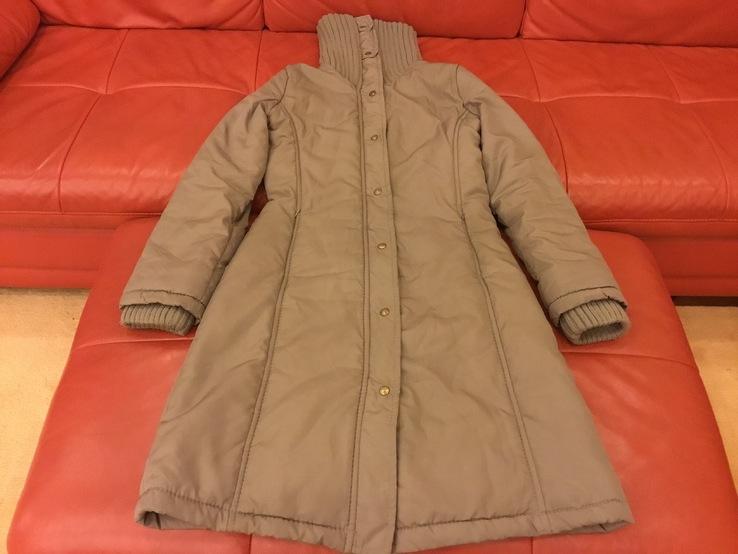 Тёплое пальто куртка MANGO, р.S