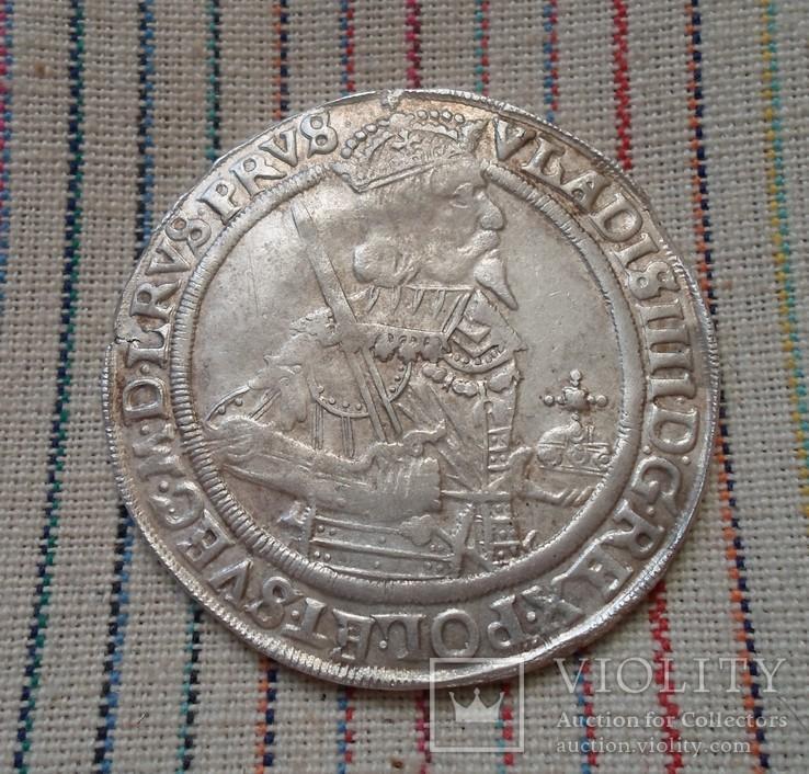 Талер 1637 г. Владислав