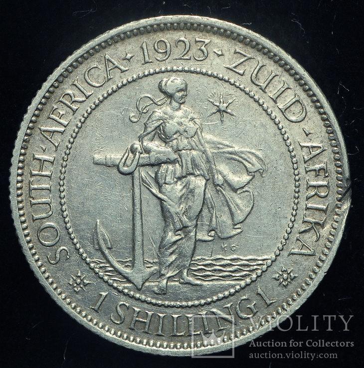 Южная Африка шиллинг 1923 серебро
