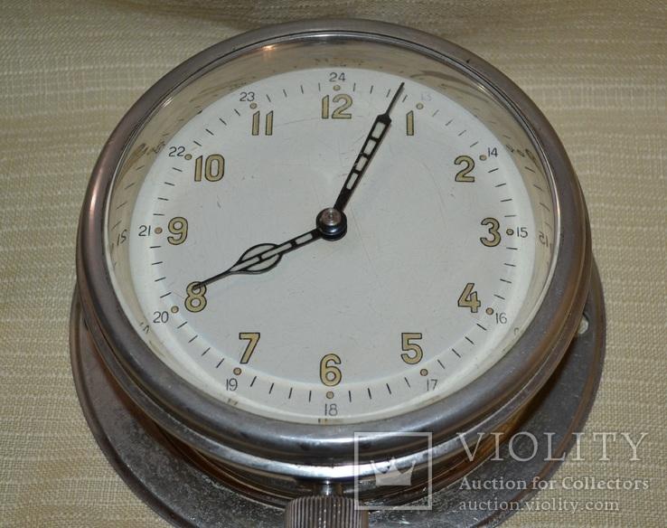 Часы корабельные (каютные) 1960 год рабочие