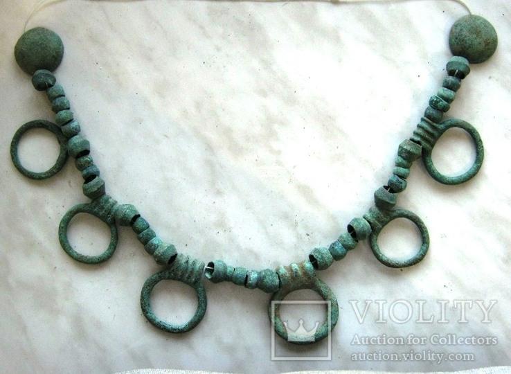 Ожерелье Кобанской культуры(12-8 века до н.э)