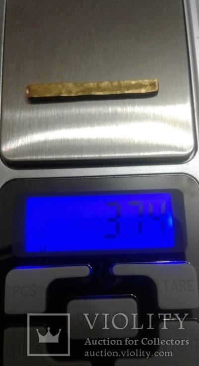Золотой платежный слиток - заготовка ЧК (3.74 гр)