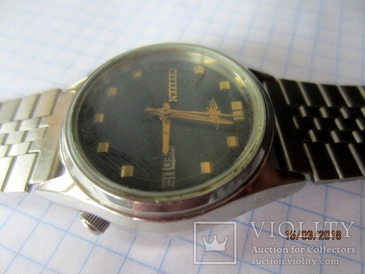 Citizen Watch Co.21 Jewels, Automatic,GN-4-S/ rar, фото №2