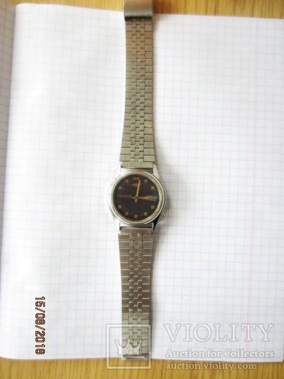 Citizen Watch Co.21 Jewels, Automatic,GN-4-S/ rar, фото №3