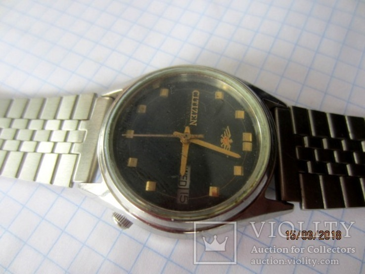 Citizen Watch Co.21 Jewels, Automatic,GN-4-S/ rar, фото №5