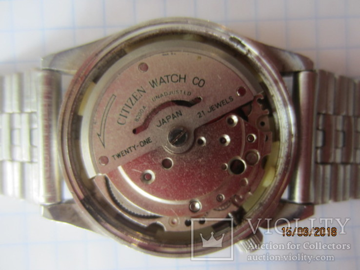 Citizen Watch Co.21 Jewels, Automatic,GN-4-S/ rar, фото №7