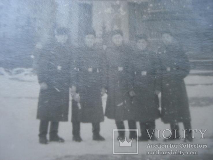 Группа военных на фоне Университета им. Ломоносова., фото №4