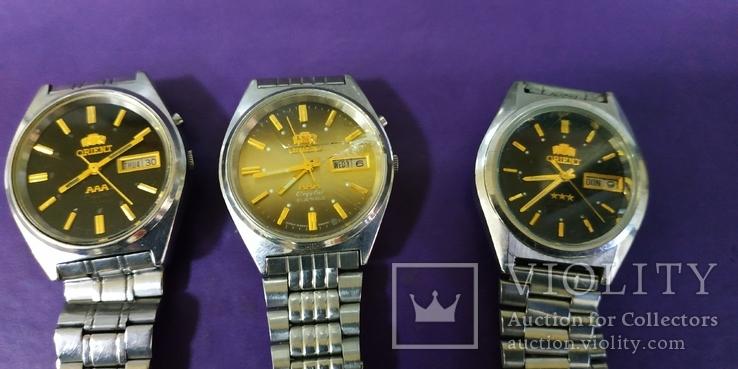 Часы Orient 3 штуки