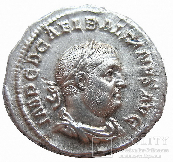 Денарий Бальбин с 22 апреля по 29 июля 238 г. н.э.