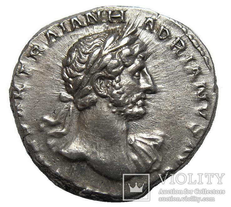 Денарий Адриан 117-138 г. н.э.