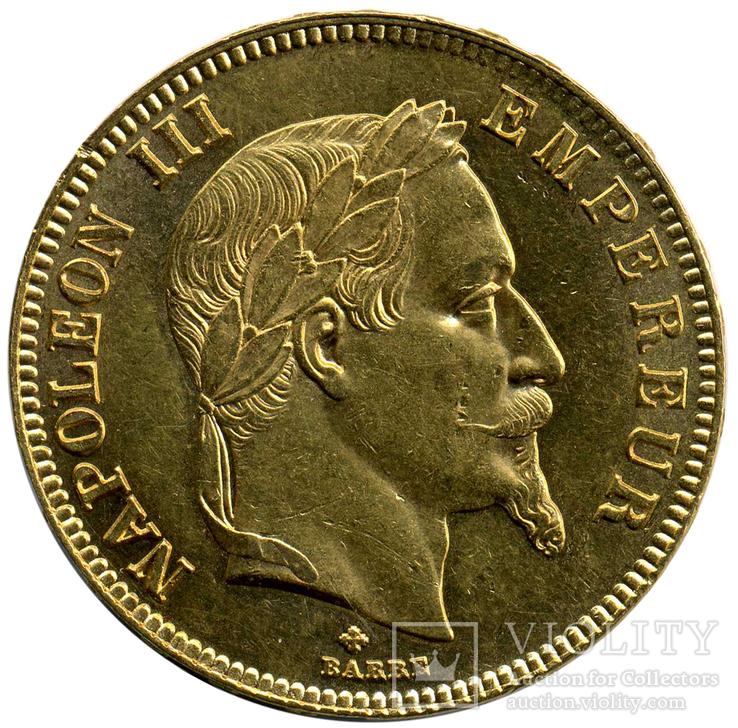100 Франков 1863г. Франция
