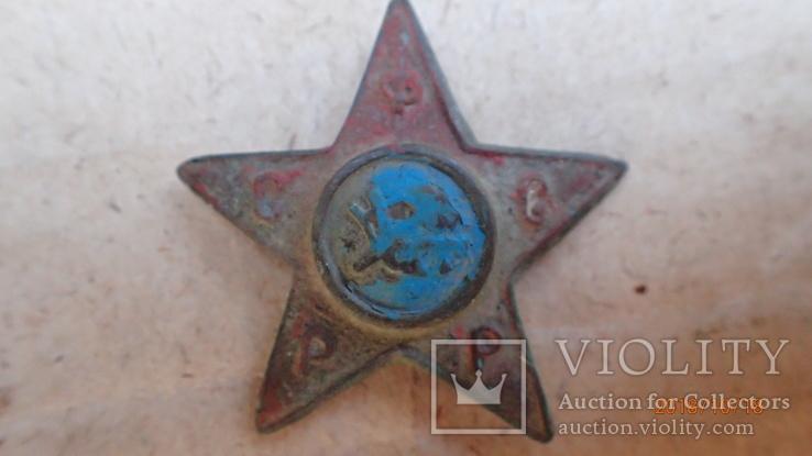 Звезда РСФСР с краскома