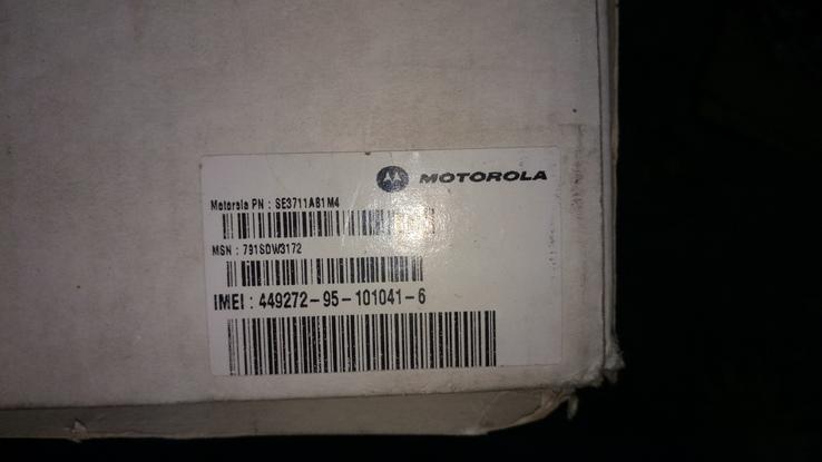 Мобильный телефон Motorola M8989 полный комплект новый, фото №8