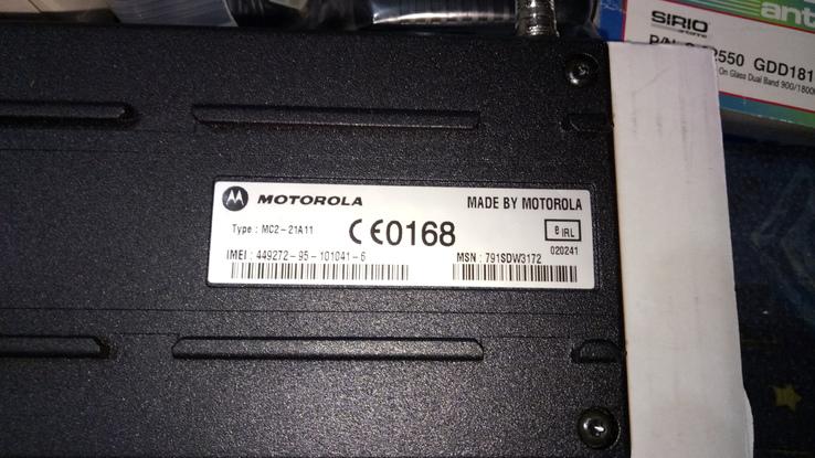 Мобильный телефон Motorola M8989 полный комплект новый, фото №10