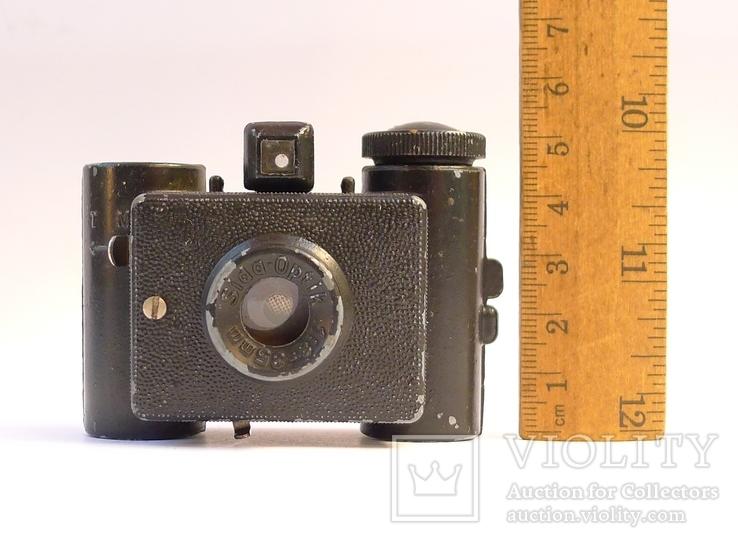 Шпионский немецкий фотоаппарат 30-х г. Sida.