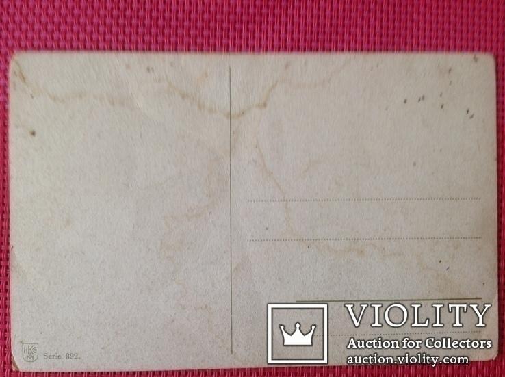 Почтовая открытка старая, Германия, фото №3