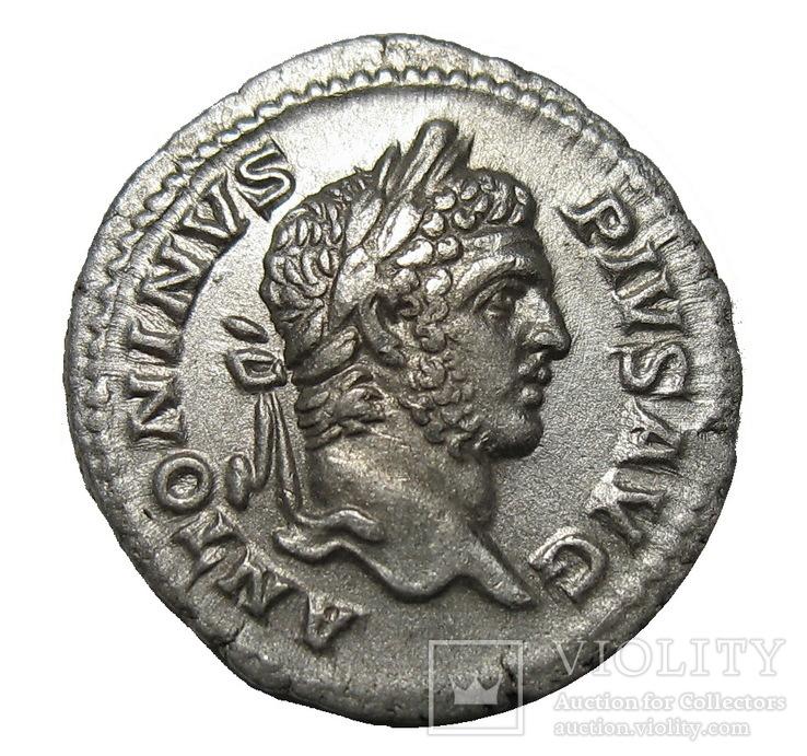 Денарий Каракалла 197-217 г. н.э.