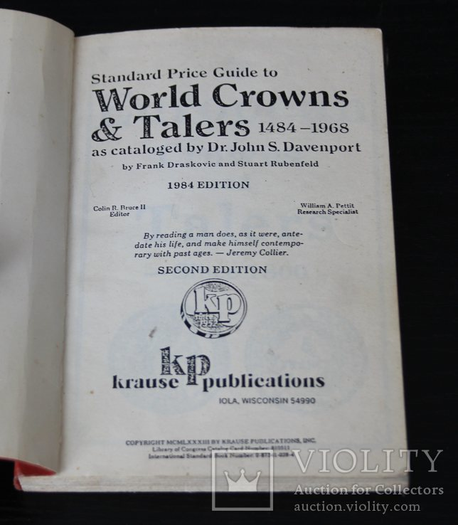 World Crowns & Talers 1484-1968