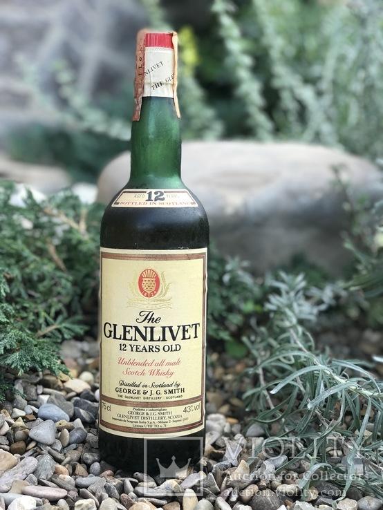 Виски Glenlivet 12 1980s