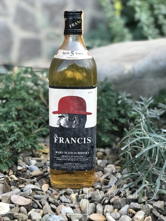 Виски Francis 5 1970s